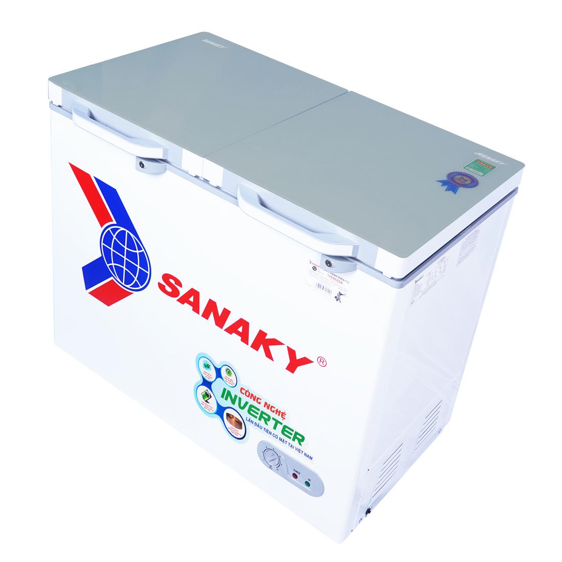 Tủ Đông mặt kính cường lực Sanaky VH-2899A4K
