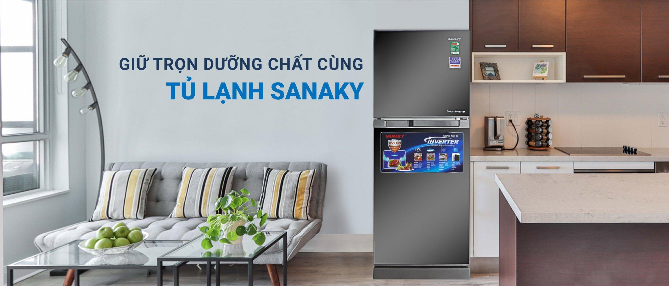 Sanaky Việt Nam - Thương hiệu điện lạnh, điện gia dụng, máy biến áp